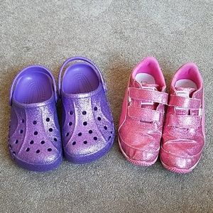 Girls bundle shoes size 13/1